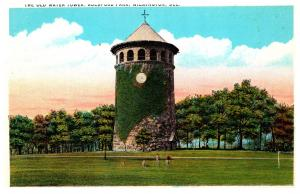Delaware  Wilmington ,   Rockford Park , Old Water Tower