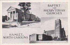 North Carolina Hamlet Baptist And Presbyterian Churches