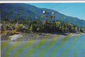 Canada Cable Car at Boston Bar Fraser Canyon British Columbia