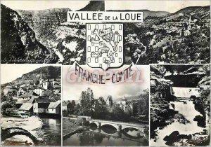 Postcard Modern Franche Comte Loue Valley Lion