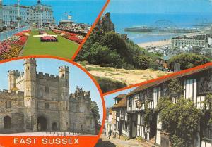 East Sussex Eastbourne The Carpet Garden The Pier, Battle Hastings Rye Castle