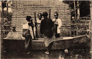 CPA Groek uit Buitenzorg No. 75. Padiestampsters. INDONESIA (169563)
