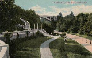 MILWAUKEE, Wisconsin, 1913; Beautiful Lake Park