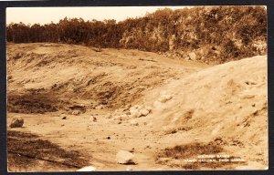 Sulphur Banks, Hawaii National Park - real photo card - RPPC