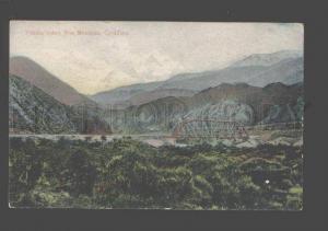 093204 Chile Puente sobre Rio Mendoza Cordillera Vintage PC