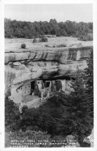 Mesa Verde Nat Park Colorado Spruce Tree House Frasher Real Photo PC K97015