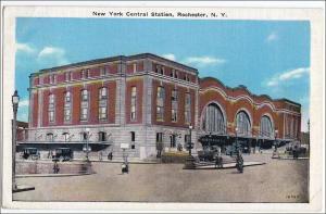 NY - Rochester. Railroad Station