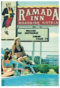 Georgia  Folkston , Ramada Inn Poolside, Sexy Girls in Bikini's