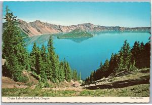 Crater Lake National Park, Oregon with Wizard Island