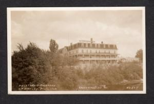 ME Vintage Piscataquis Exchange Greenville, Maine Real Photo RPPC Postcard, RPPC