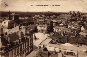 CPA CHALONS-sur-MARNE - Vue générale (742832)