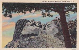 Mount Rushmore Memorial Black Hills South Dakota