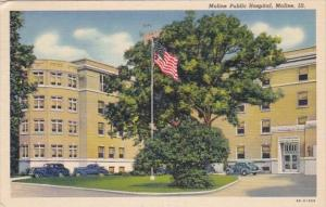 Illinois Moline Public Hospital 1940 Curteich