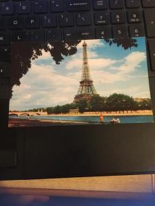 Vintage Postcard; Eiffel Tower, Paris France