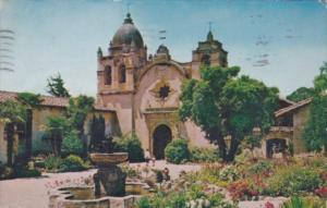 California Carmel Mission San Carlos Borromeo 1954