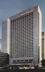 Street View of Hotel Toronto, Ontario, Canada, 40-60´s