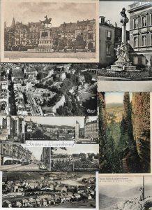 Luxembourg Echternach Clervaux and more Postard Lot of 29 with RPPC 01.01