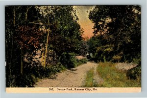 Kansas City MO-Missouri, Swope Park, Vintage c1912 Postcard
