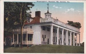 Virginia Mt Vernon Washington's Mansion