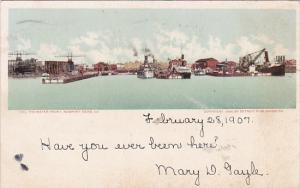 Water Front, Newport News, Virginia, PU-1907