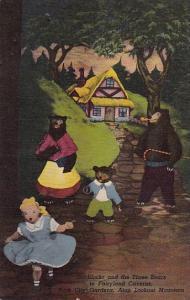 Goldilocks And The Three Bears In Fairyland Caverne Rock City Gardens Atop Lo...
