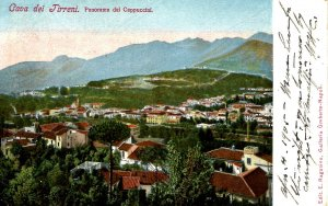 Italy - Cava de Tirreni. View from the Capuchins