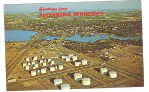 Scenic Greetings from Alexandria, Minnesota,  40-60s