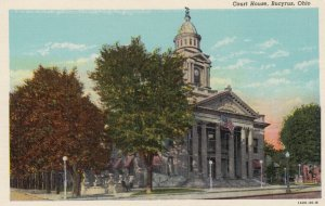 BUCYRUS , Ohio , 1930-40s ; Court House