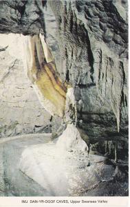 Post Card Wales Powys Dan-Yr-Ogof Show Caves