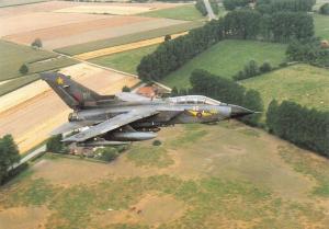 Postcard NEW RAF Bruggen Tornado GR1 No.31 Squadron by Squadron Prints No.5