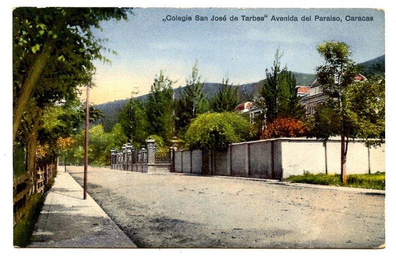 Venezuela - Caracus. San Jose de Tarbes School, Paradise Avenue