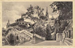 Hungary Budapest 1940 stairs to the Fisher Bastion