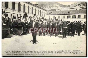 Old Postcard Boat Catastrophe of Freedom the Toulon Mm presidents of the repu...