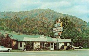 Postcard Mountain View Cafeteria North Carolina