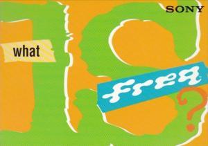 Advertising Sony Radio