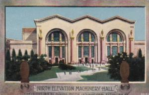 North Elevation Machinery Hall Panama Pacific International Expo 1915 San Fra...