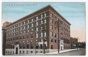 YMCA Duluth Minnesota 1910c postcard