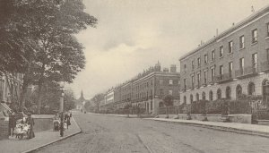 St Pauls Road Place Canonbury London Postcard