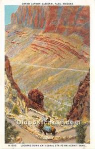 Publisher Fred Harvey Postcard H-1505 Unused