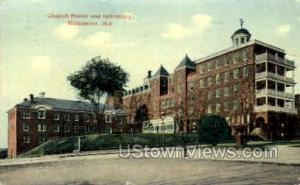 Church Home & Infirmary Baltimore MD 1914