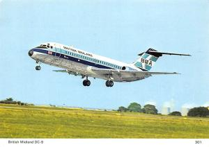 British Midland DC-9 BMA Series 10
