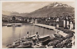 Switzerland Luzern mit Pilatus Photo