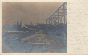 RP; SAUKVILLE , Wisconsin, PU-1908 ; bRIDGE & tOWN