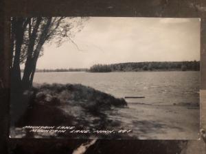 Mint USA Real Picture Postcard Mountain Lake