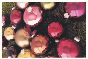 Advertising Martha Stewart Woodland Holiday Glass Ornaments Kmart