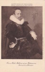 Frans Hals Bildnis eines Patriziers Portrait d'un Patricien