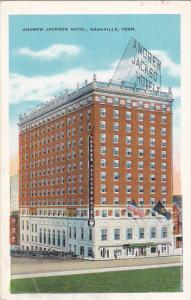Tennessee Nashville Andrew Jackson Hotel