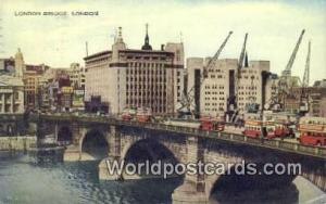 United Kingdom, UK, England, Great Britain London Bridge London  London Bridge