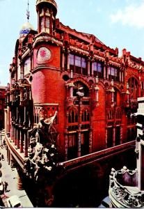 Postal 016563: BARCELONA - Palau de la Musica Music Palace