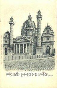 Karlskirche Wien - Vienna Austria Unused
